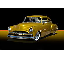 1950 Chevrolet Fleetline Custom w/o ID Photographic Print