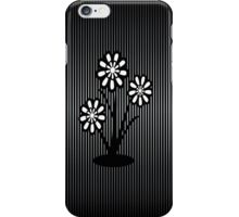 Monochrome Flowers (iPhone/iPod) iPhone Case/Skin