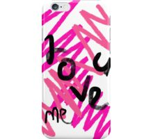 Love U&me iPhone Case/Skin