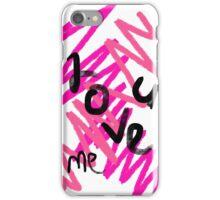 Love U&me iPhone Case/Skin