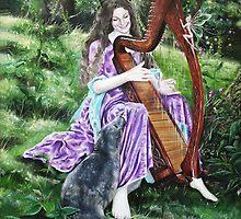 Hannah Titania, 'Selkie serenade' by Gabriella  Szabo