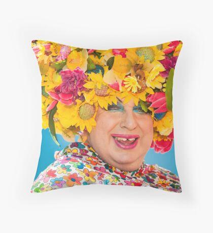 The Colours of Brighton Pride Throw Pillow