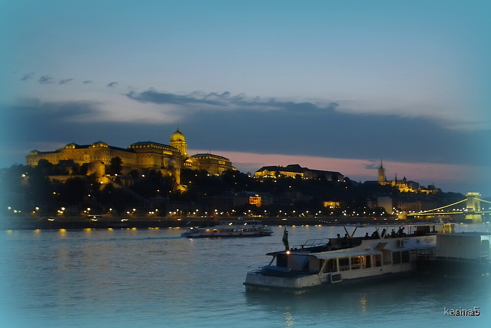 Budapest at Night by karina5