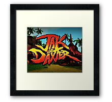 JAK AND THE DAXTOR! Framed Print