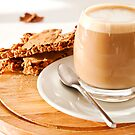Cortado and Biscuits by Stephen Knowles