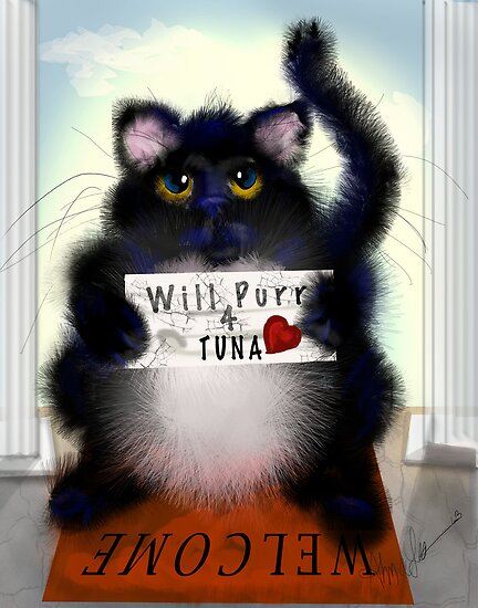Paid Purr Tuna by Alma Lee