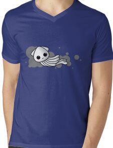 Squid Ink Mens V-Neck T-Shirt