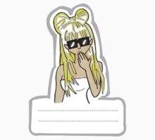 Lady Gaga - Poker Face Sticker by ClaudioPeeters