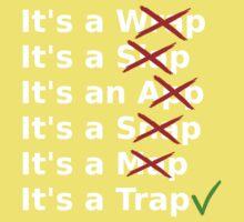 It's a Wrap? No it's a Slap? No One Piece - Short Sleeve