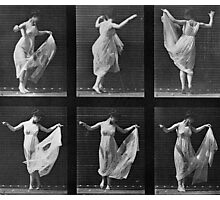Dancing Woman, plate 187 from 'Animal Locomotion', 1887 Photographic Print