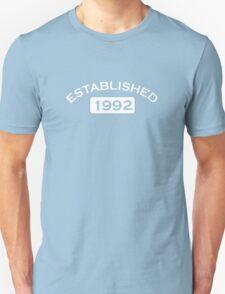 Established 1992 T-Shirt