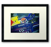 Infiniti Redbull Racing Framed Print