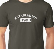 Established 1993 Unisex T-Shirt