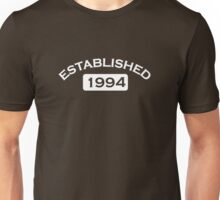 Established 1994 Unisex T-Shirt