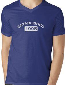 Established 1995 Mens V-Neck T-Shirt