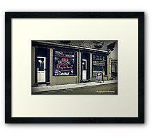 Snow Goose - Macclesfield Framed Print