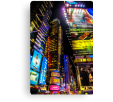 Forty Second Street Canvas Print