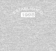 Established 1998 Unisex T-Shirt