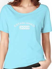 Established 2009 Women's Relaxed Fit T-Shirt