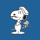 Snoopy Gentlemen by gleviosa