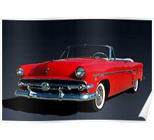 1954 Ford Crestline Convertible Poster