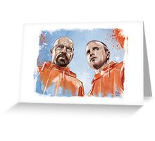 Walt & Jesse Greeting Card
