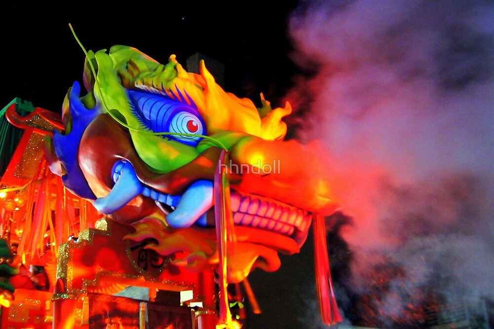 Smoking Dragon by hhndoll