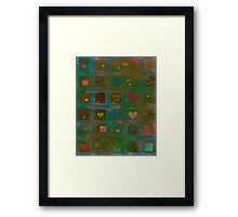 So many things to say... Framed Print