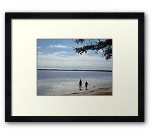 LET'S GO FISHING Framed Print