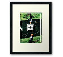 BTS/Bangtan Sonyeondan - Jimin 화양연화 Framed Print