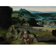 The Rest on the Flight into Egypt (The Miraculous Field of Wheat) c.1518-24  Photographic Print
