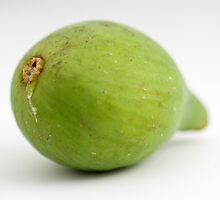 Green Fig by Henrik Lehnerer
