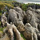 Punakaiki pancake rocks by andreisky