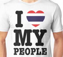 I Heart (Love) My Thai People Unisex T-Shirt