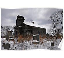St. Johns Evangelical Church and Cemetery in Perry County, Ohio Poster