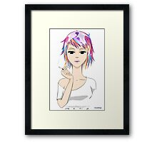 Semma Smokin Framed Print