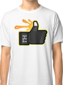 FACEBOOK X GHOSTBUSTERS (GB3 SLIMED) Classic T-Shirt