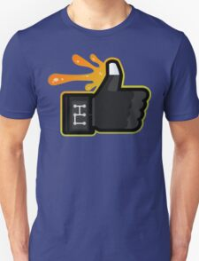 FACEBOOK X GHOSTBUSTERS (GB3 SLIMED) Unisex T-Shirt