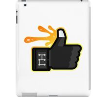 FACEBOOK X GHOSTBUSTERS (GB3 SLIMED) iPad Case/Skin