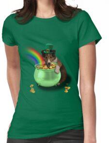 Irish Dog Womens Fitted T-Shirt