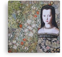 Lost In The Garden Canvas Print