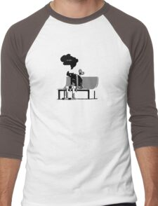 Automaton Blues Men's Baseball ¾ T-Shirt