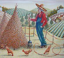 Three in a Haystack by Elizabeth Henry by Vivian Eagleson