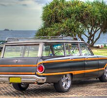 Retro Ford Falcon - Country Squire by Cheryl Styles
