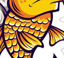 Angelic Fish Sticker