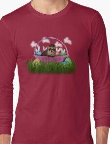 Easter Raccoon Long Sleeve T-Shirt
