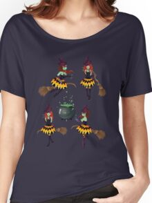 Dark Witch with Broom 3 Women's Relaxed Fit T-Shirt