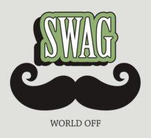 Swag a Mustache T-Shirt