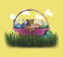 Easter Squirrel Kids Tee