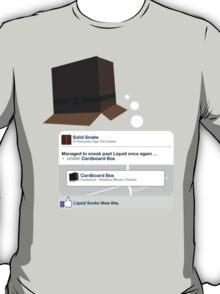 Metal Gear - Status Update T-Shirt